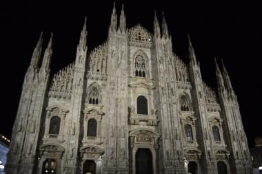 Duomo de noche