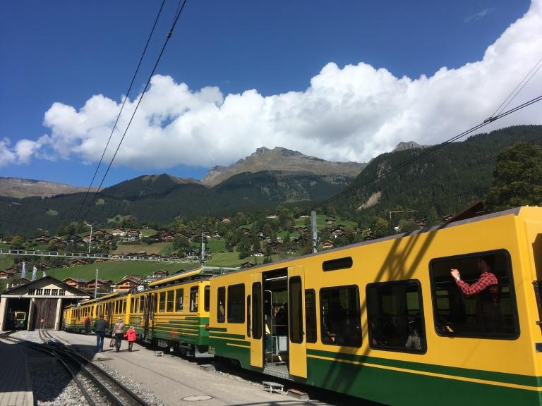 Grinderwald, estación de tren