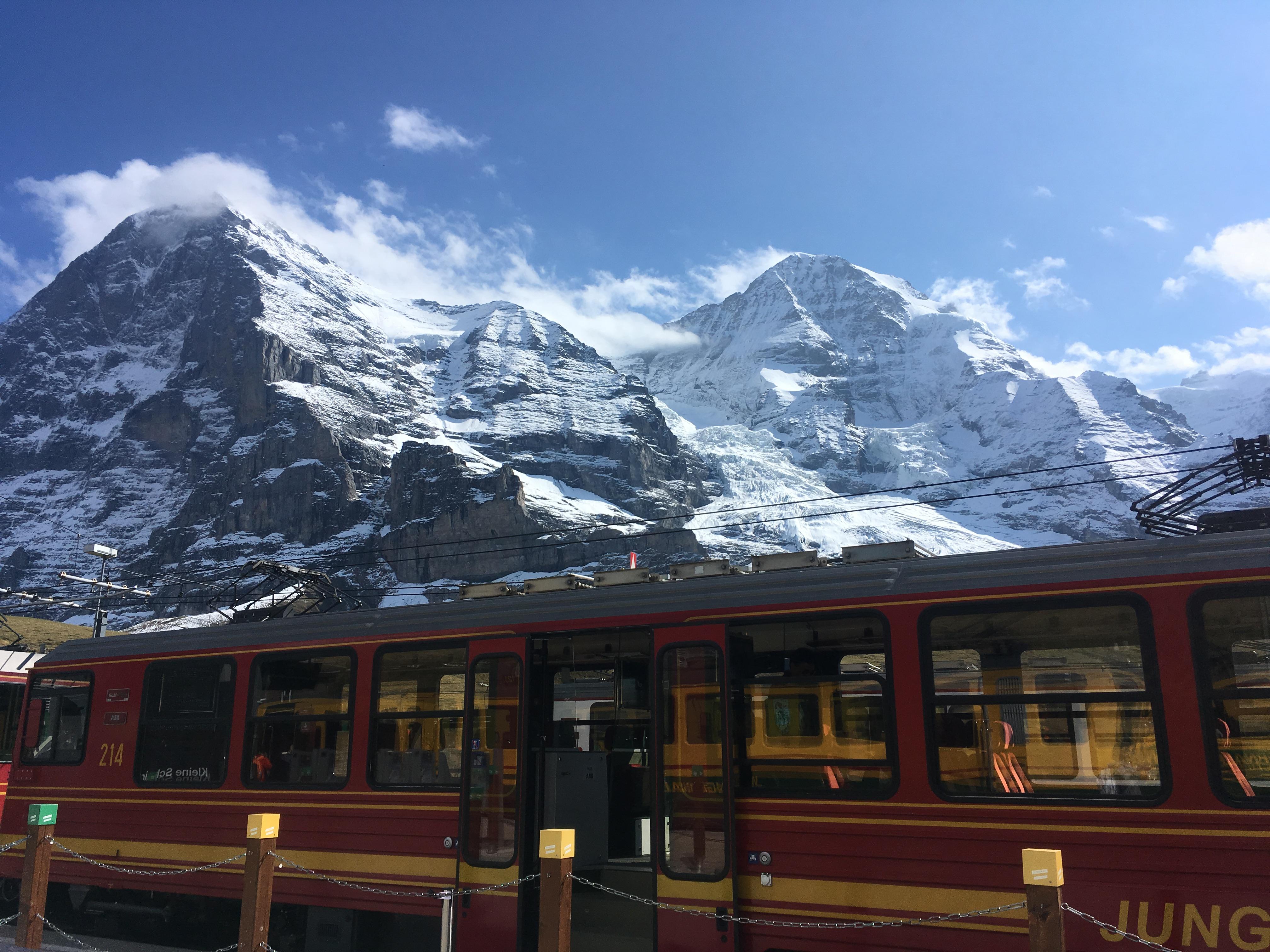 Tren en Grinderwald