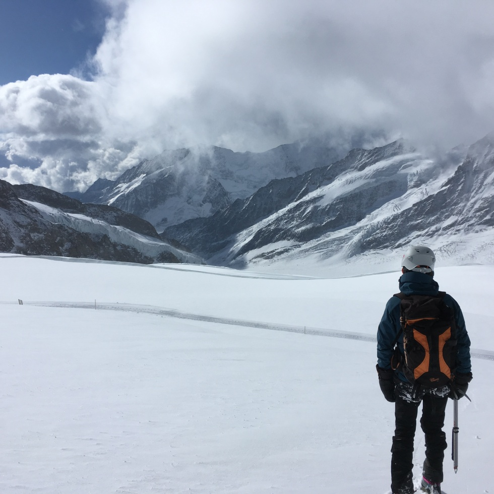 Vistas al glaciar