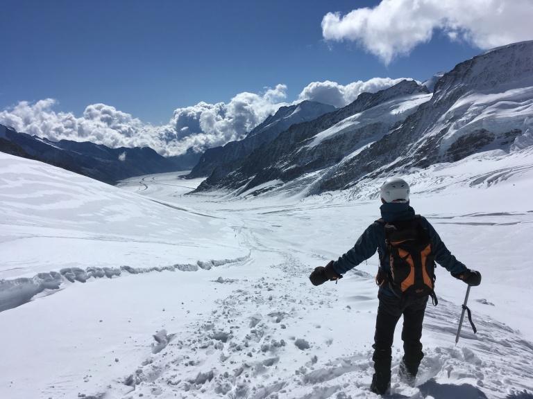 Glaciar Aletsch, el más grande de Europa