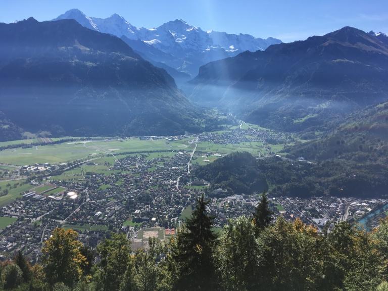Eiger, Mönch y Jungfrau al fondo