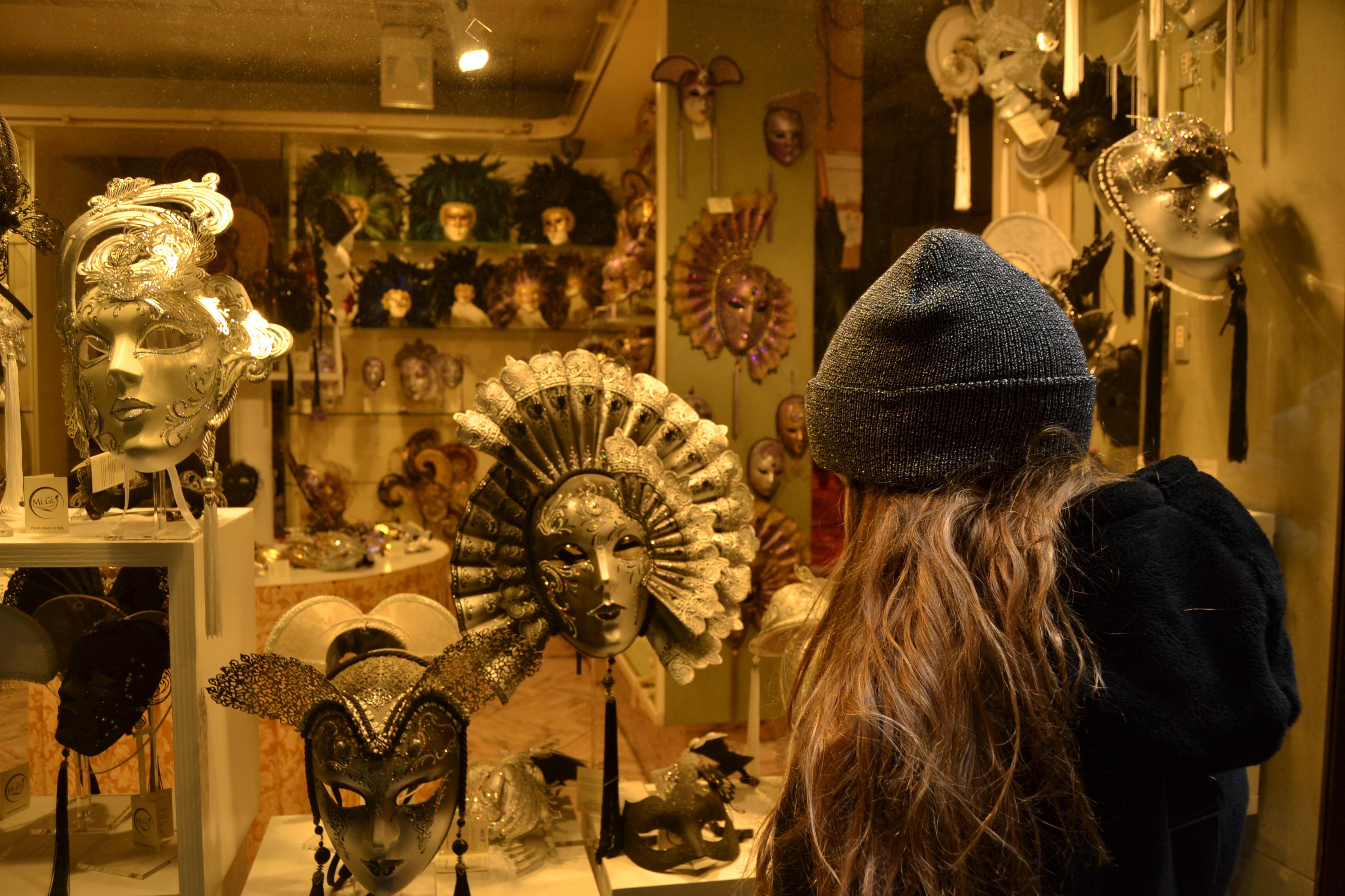 Las máscaras de Venecia