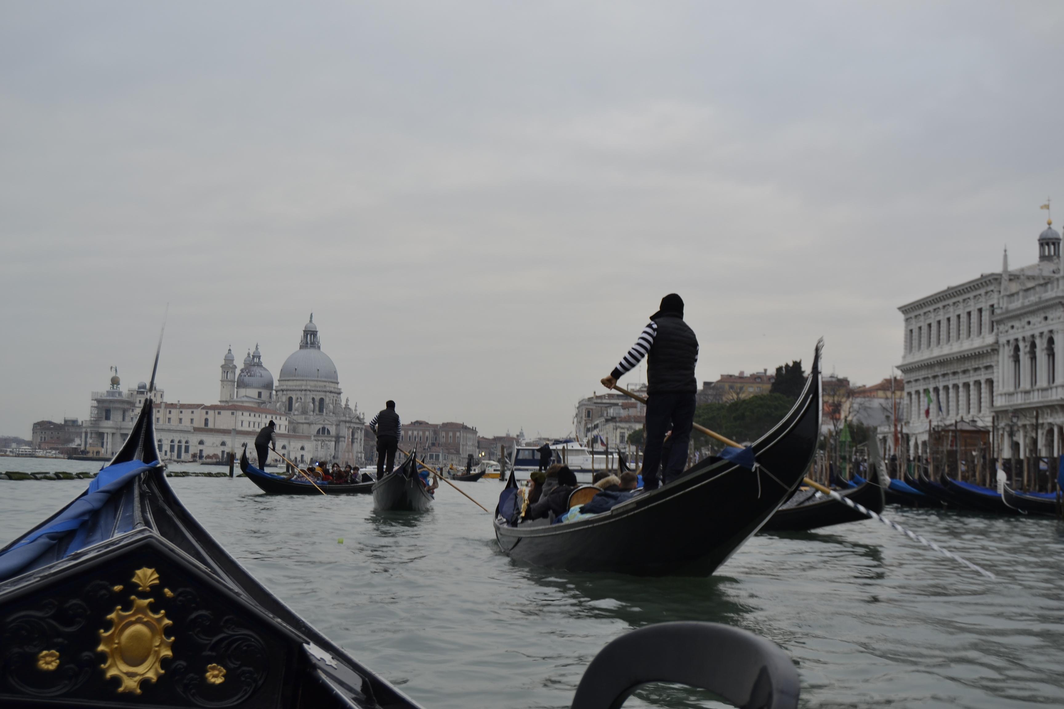 Venecia desde el agua