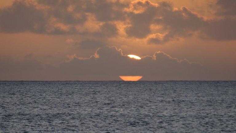 El sol gigante de Praslin