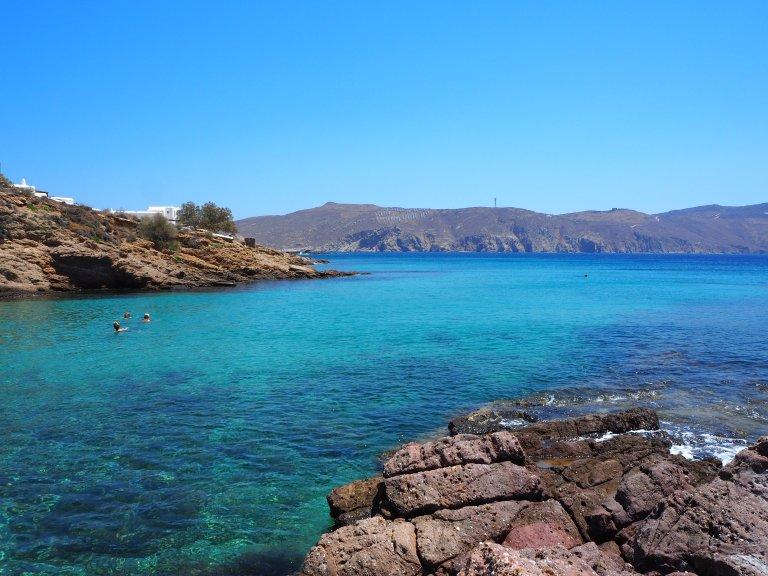 Las cristalinas aguas de Agios Sotsis