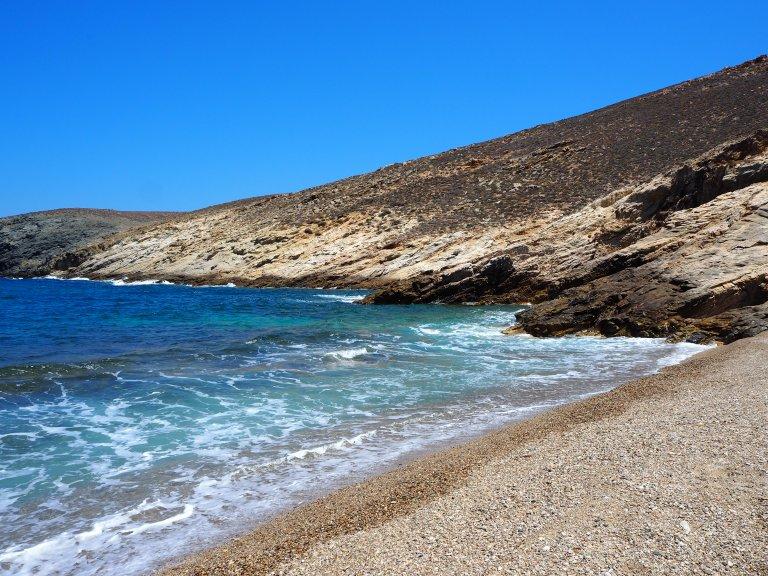 La playa Fokos