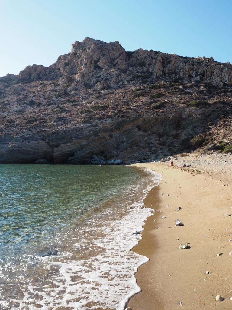 La solitaria playa Loretzaina