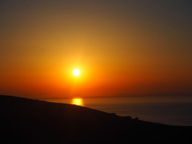 La tierra de las puestas de sol