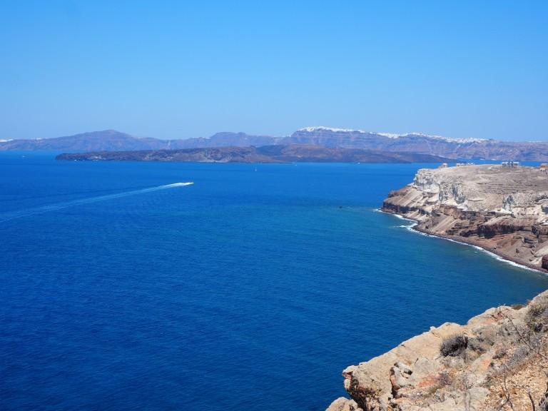 Vistas al contorno de la isla