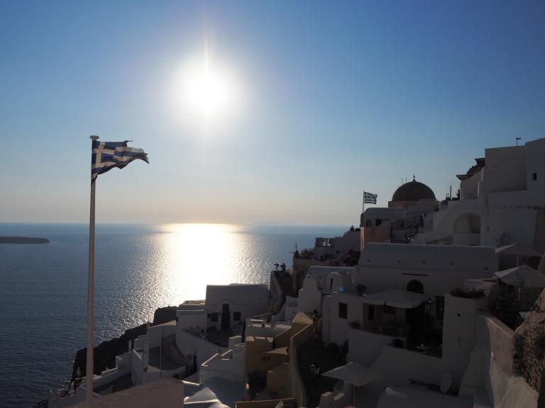 Blanco y azul, los colores de Grecia