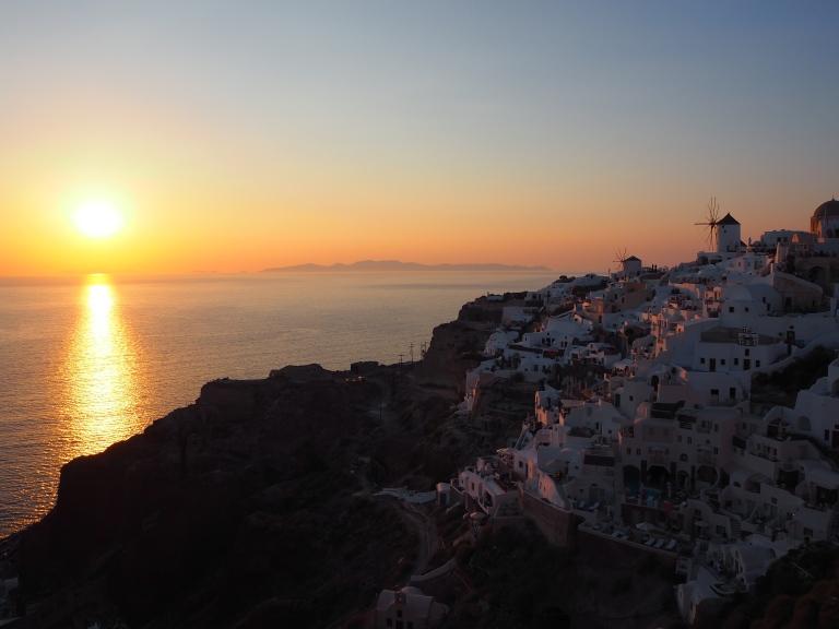 La puesta de sol más bonita