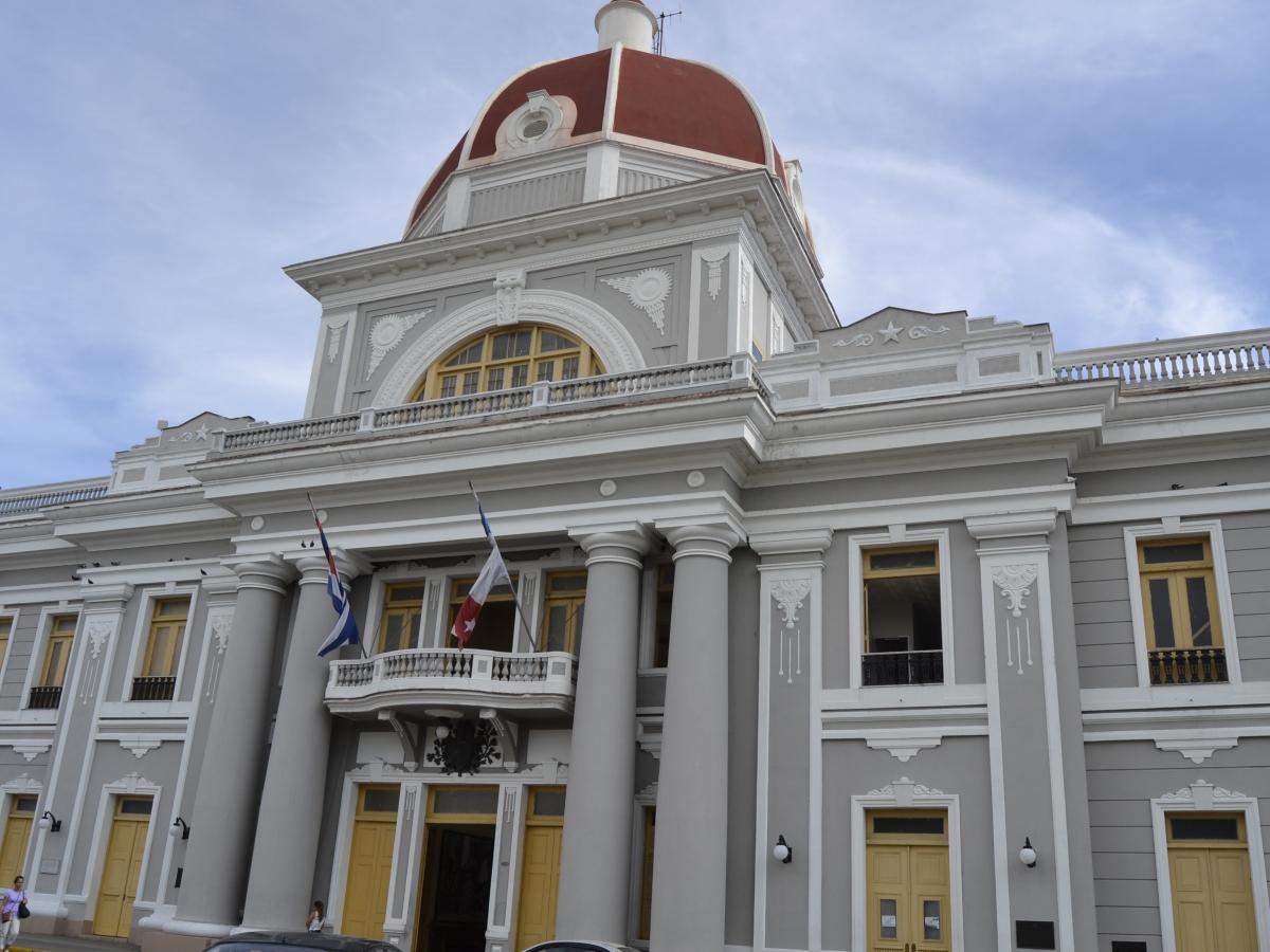 El Palacio del Gobierno de Cienfuegos