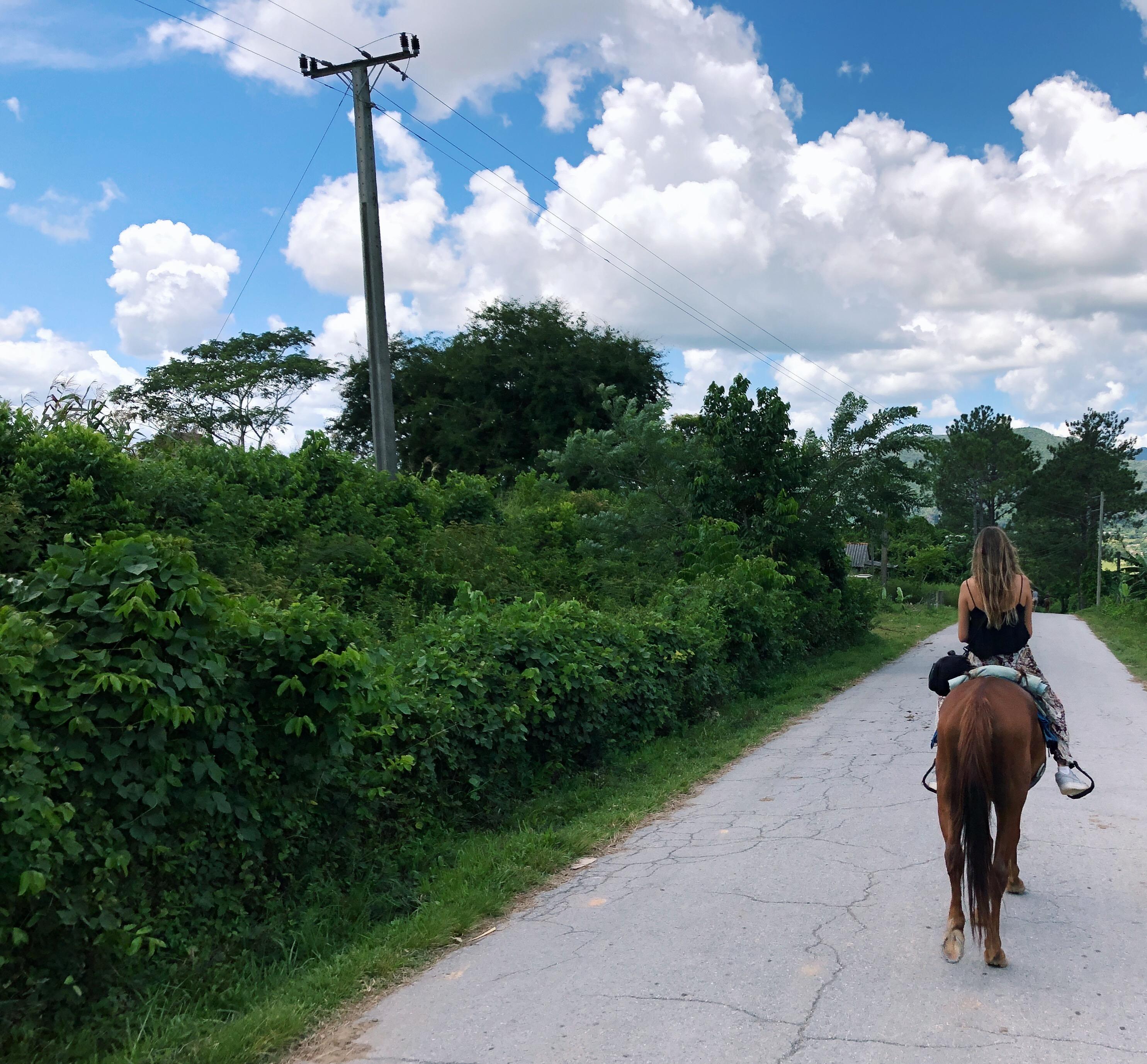 Paseo a caballo por Viñales
