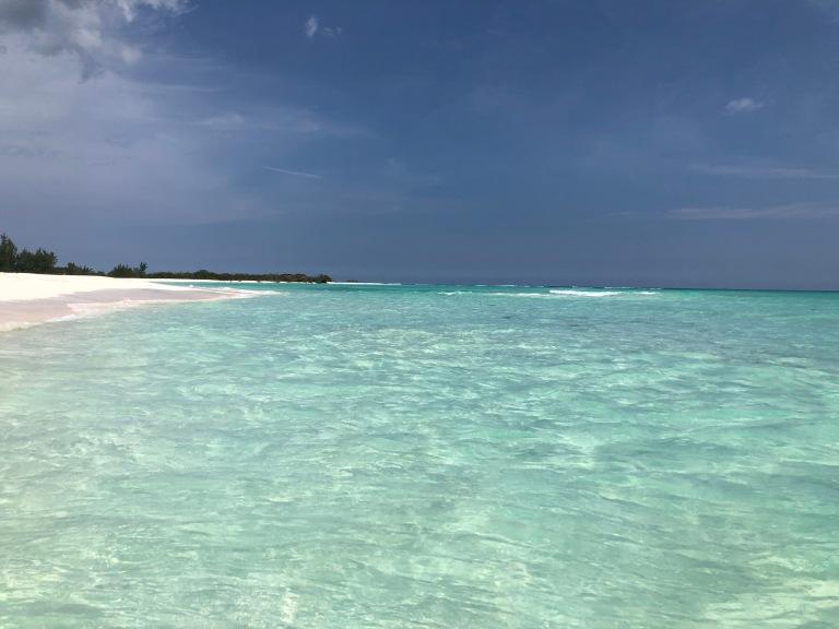 Las aguas cristalinas del Caribe